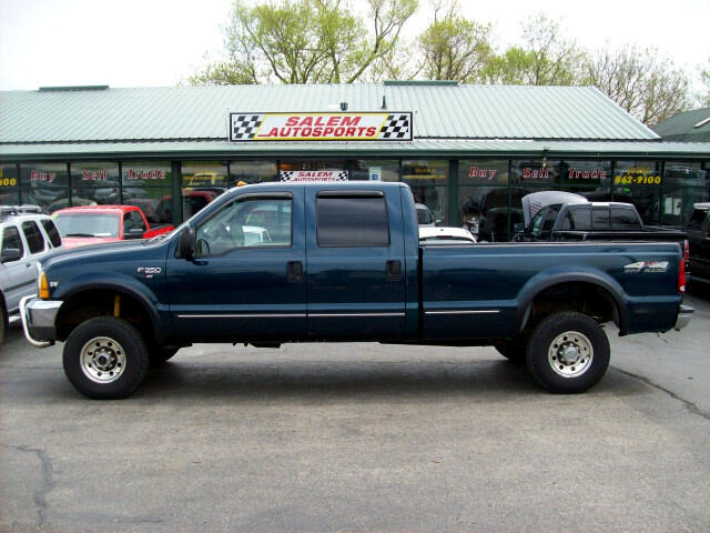 1999 Ford F-350 SD XLT Crew Cab Long Bed 4WD