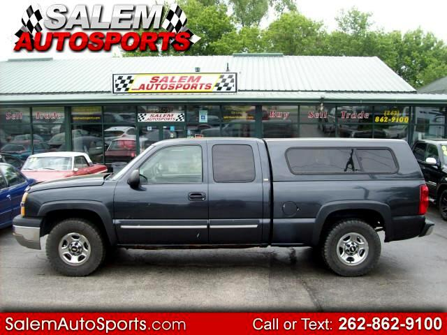 2003 Chevrolet Silverado 1500 Work Truck Extended Cab 4WD