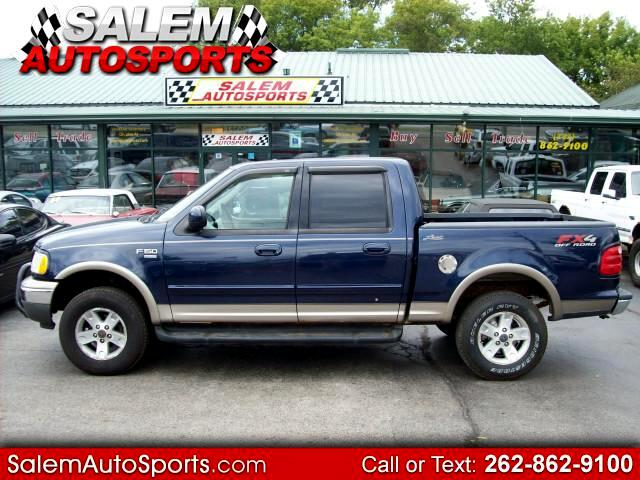 2003 Ford F-150 Lariat SuperCrew Short Bed 4WD