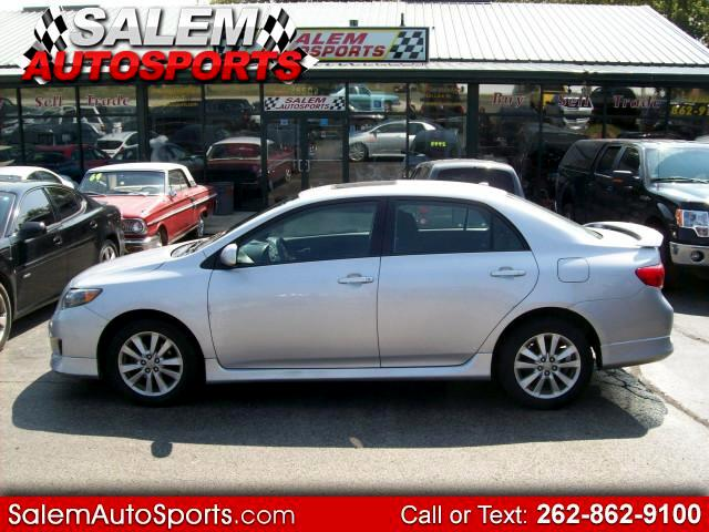 2010 Toyota Corolla S 5-Speed MT