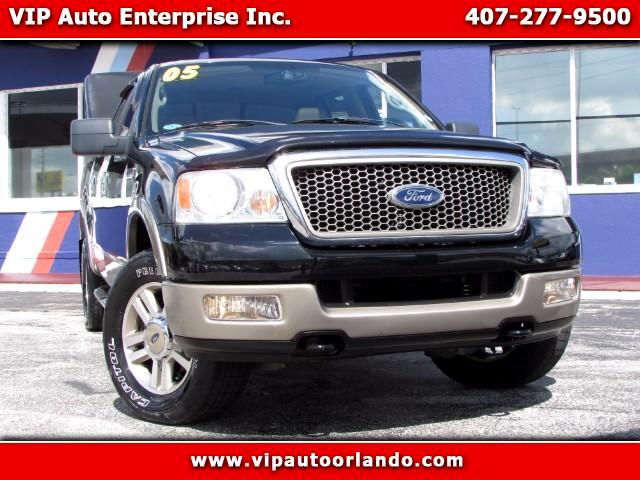 "2005 Ford F-150 4WD SuperCrew 150"" Lariat"