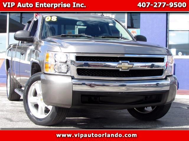 """2008 Chevrolet Silverado 1500 4WD Ext Cab 143.5"""" LS"""