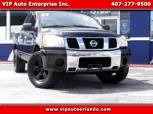 2007 Nissan Titan SE Crew Cab 2WD