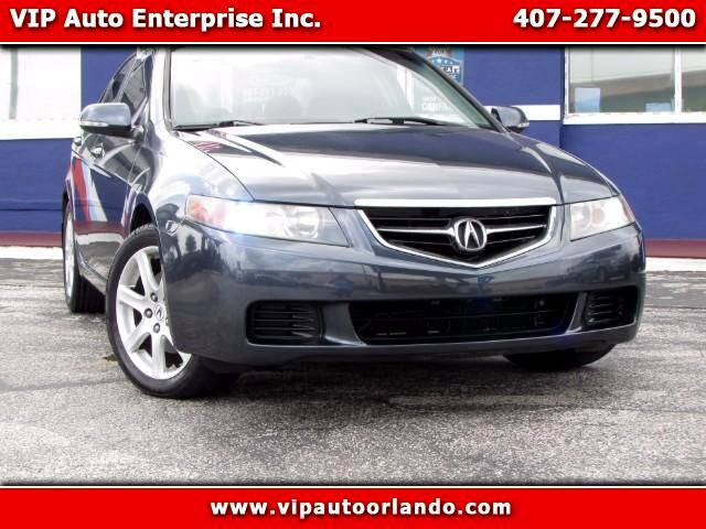 2005 Acura TSX 6-Spd MT with Navigation System