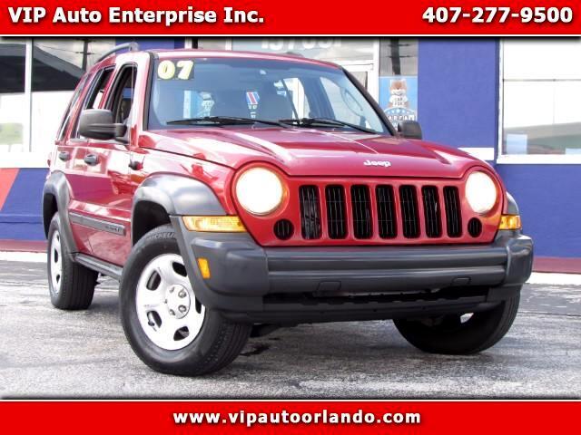 2007 Jeep Liberty Sport 2WD