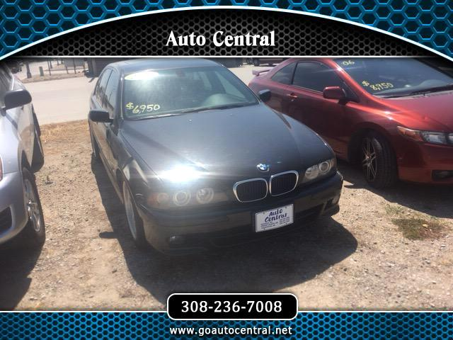 2003 BMW 5-Series I AUTOMATIC