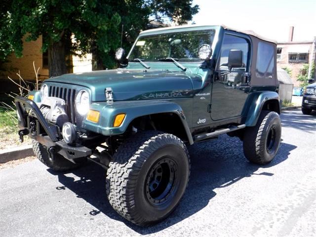 2001 Jeep Wrangler Sahara