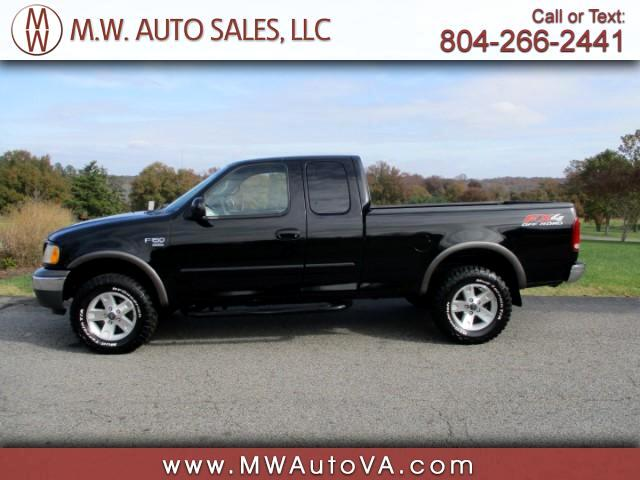 "2002 Ford F-150 4WD SuperCab 133"" FX4"