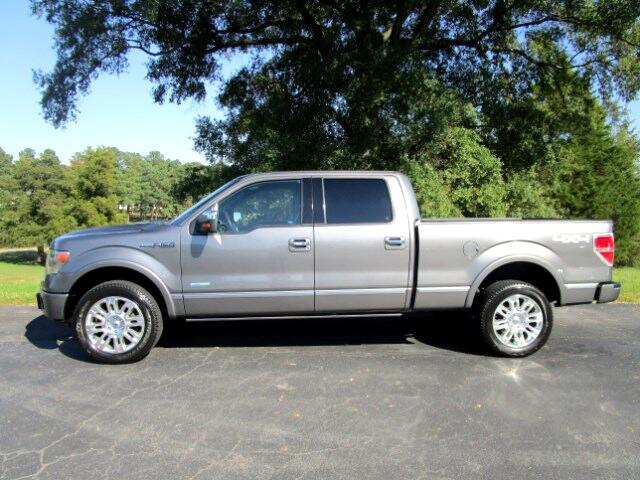 2013 Ford F-150 Platinum SuperCrew 6.5-ft. Bed 4WD