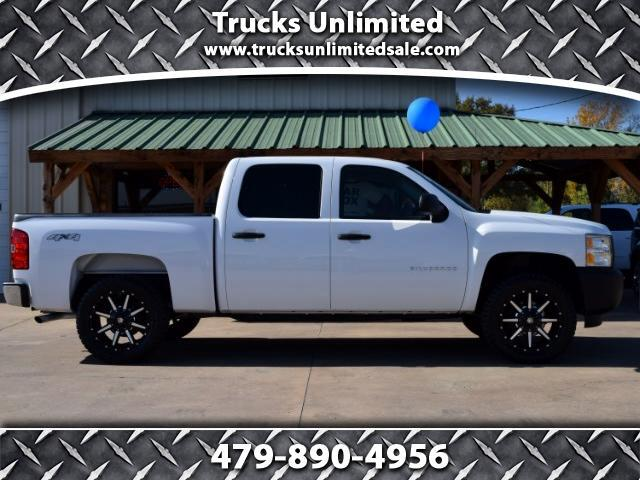 2011 Chevrolet Silverado 1500 Crew Cab Short Bed 4x4