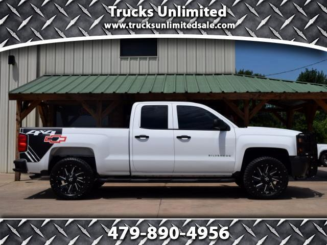2014 Chevrolet Silverado 1500 4WD DOUBLE CAB SHORT BED