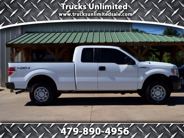 2011 Ford F-150 XL SuperCab Short Bed 4WD