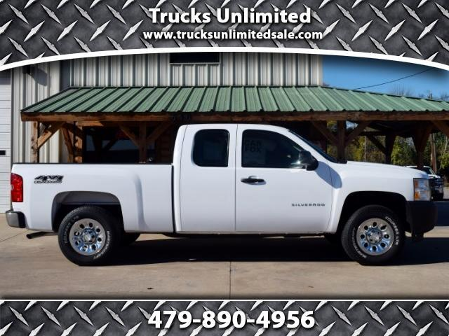 2012 Chevrolet Silverado 1500 Ext. Cab 4-Door Short Bed 4WD