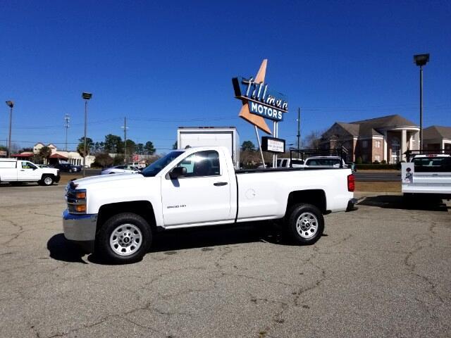 2015 Chevrolet Silverado 2500HD Work Truck Long Box 2WD