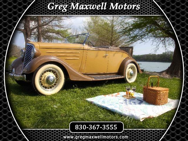 1934 Chevrolet Roadster Base