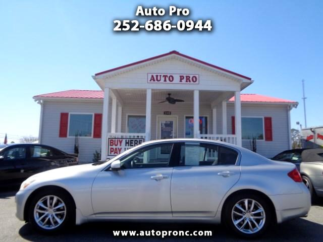 used 2007 infiniti g35 base for sale in kinston nc 28504 auto pro. Black Bedroom Furniture Sets. Home Design Ideas