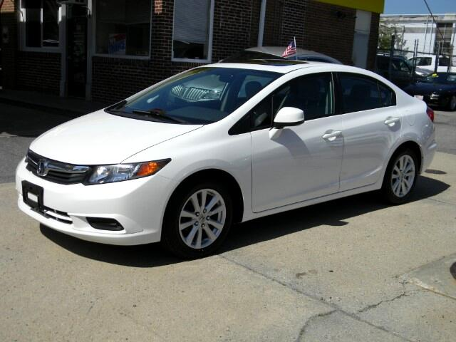 2012 Honda Civic EX Sedan AT with Navigation