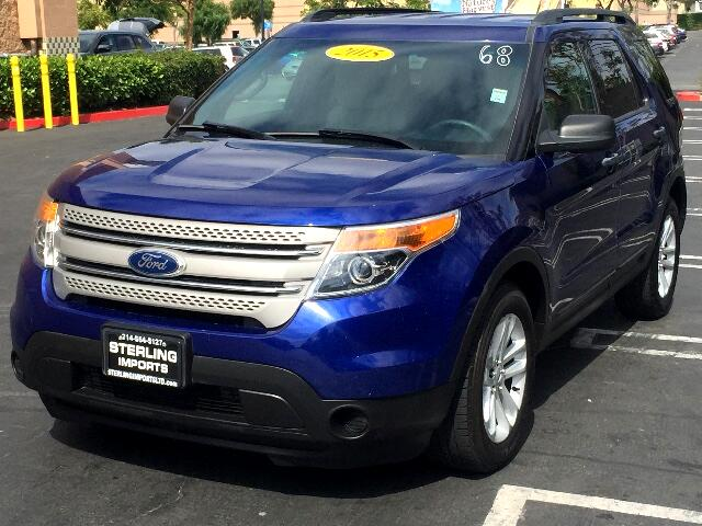 2015 Ford Explorer XLT 2WD
