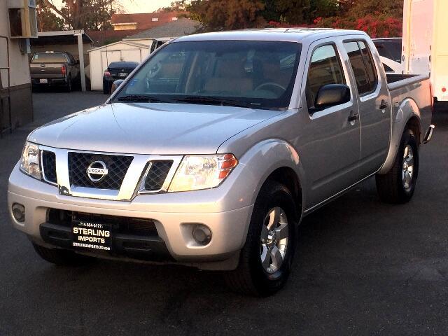 2012 Nissan Frontier SV CREW CAB