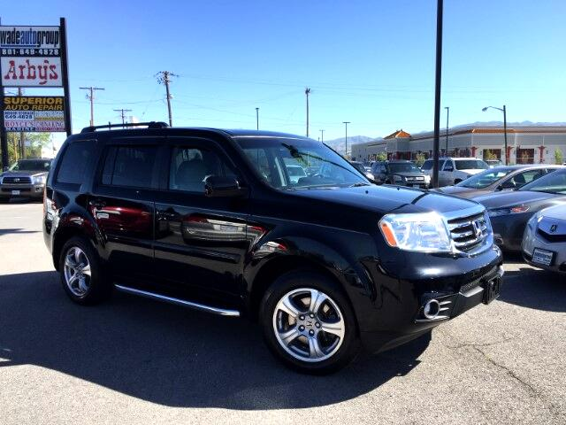 2012 Honda Pilot EX-L 4WD 5-Spd AT with DVD