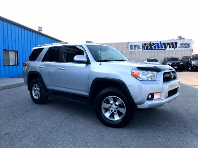 2012 Toyota 4Runner SR5 W/Leather & 3rd Row 4WD