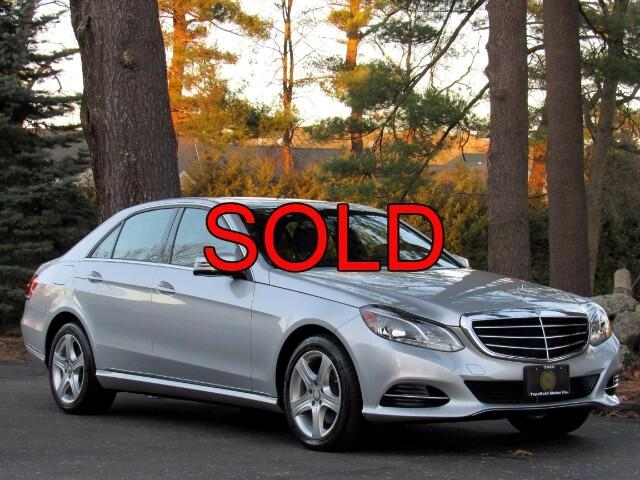 2015 Mercedes-Benz E-Class E350 Luxury 4MATIC Sedan