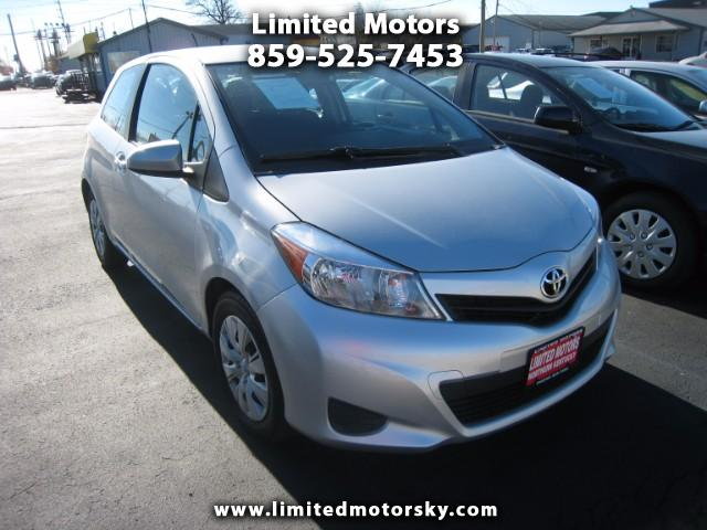 2014 Toyota Yaris L 3-Door AT
