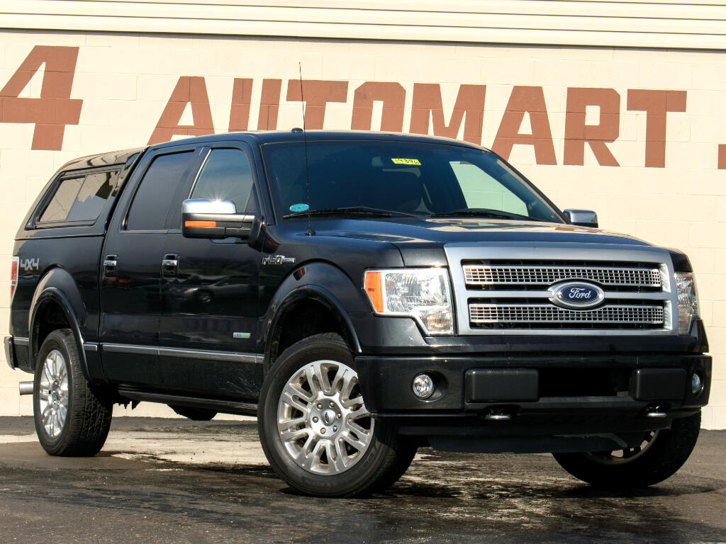 2012 Ford F-150 Platinum 4x4 Short Bed