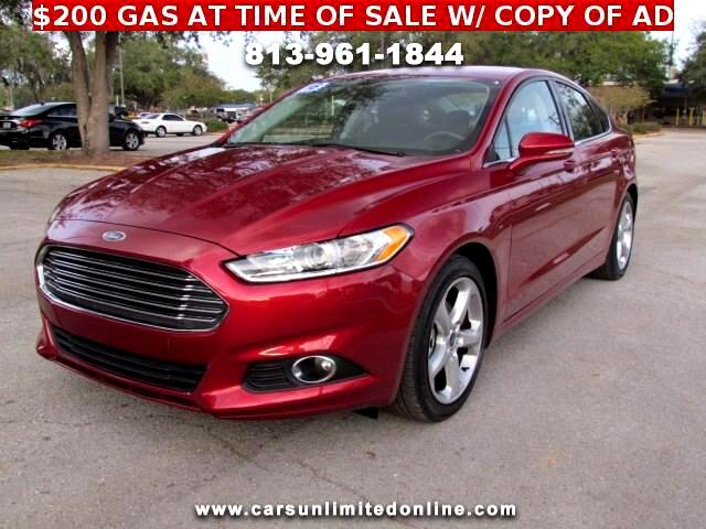 2016 Ford Fusion Sport w/EcoBoost