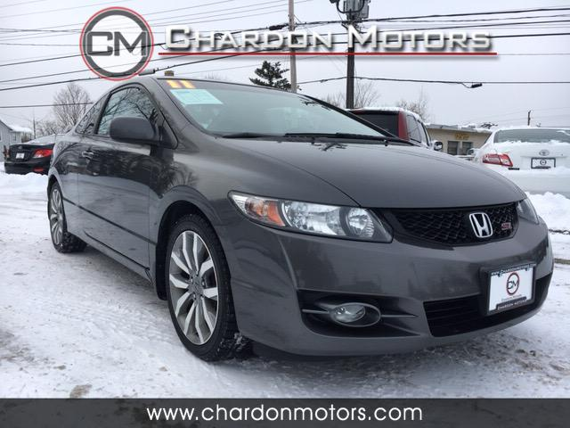 2011 Honda Civic Si Coupe 6-Speed MT with Navigation