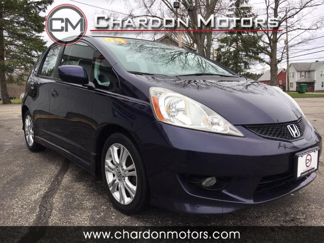 2009 Honda Fit Sport 5-Speed MT with Navigation