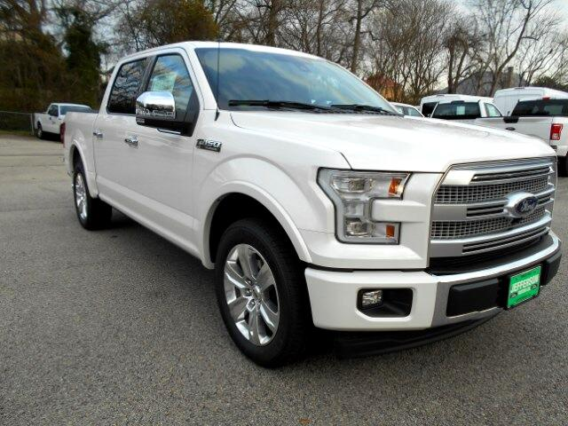 2017 Ford F-150 Platinum SuperCrew 5.5-ft. Bed 2WD