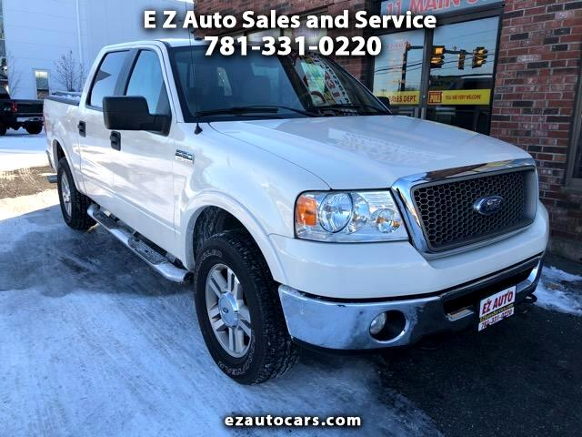 "2008 Ford F-150 SuperCrew 139"" Lariat 4WD"