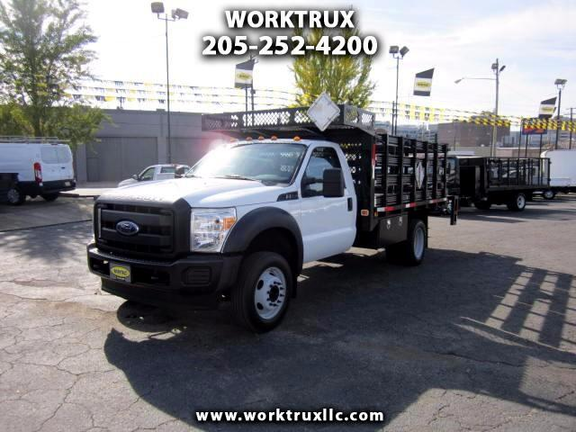 2015 Ford F-550 12FT FLATBED