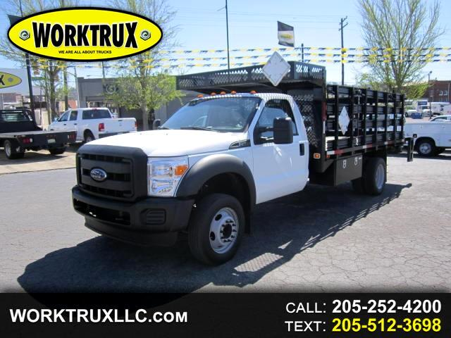 2015 Ford F-550 14' FLATBED