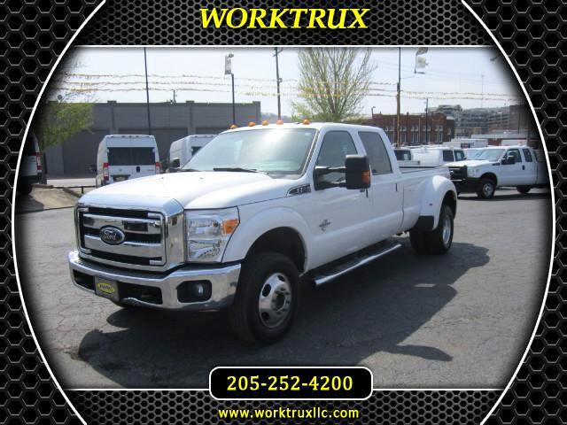 2015 Ford F-350 SD CREW 4X4 DUALLY LARIAT