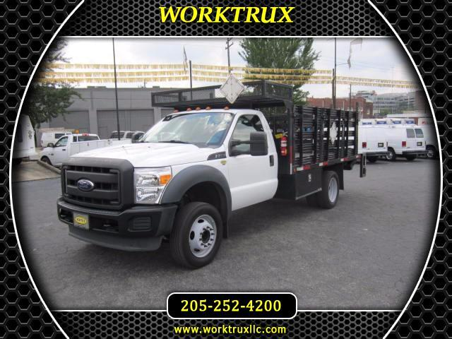 2013 Ford F-550 12ft Flatbed