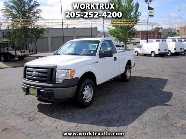 2011 Ford F-150 REG CAB SHORT BED 4X4