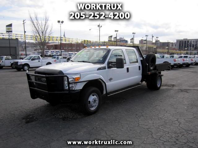 2011 Ford F-350 SD CREW 4X4 FLATBED