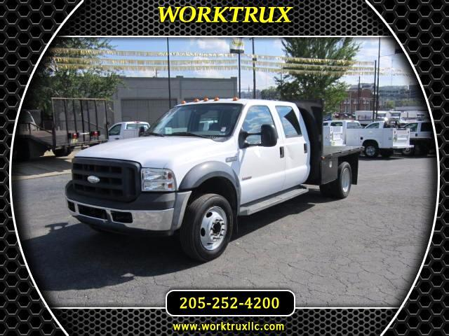 2007 Ford F-550 CREW FLATBED