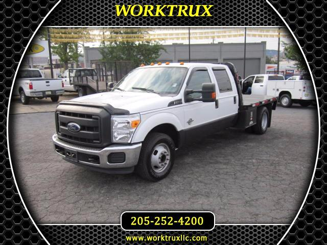 2015 Ford F-350 SD CREW FLATBED DRW