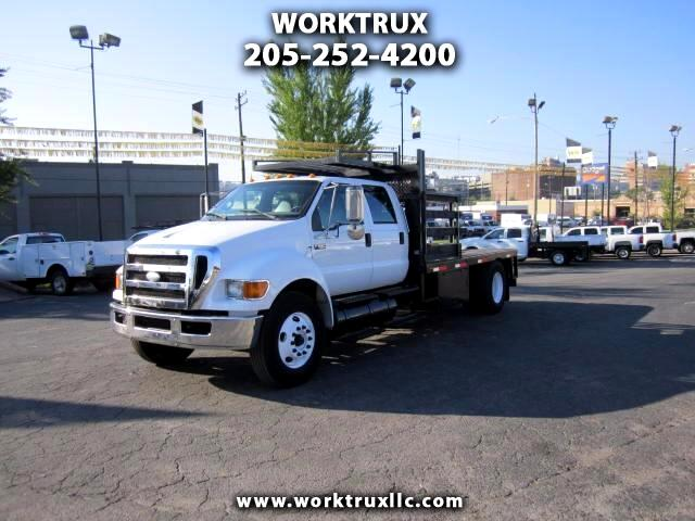 2009 Ford F-650 CREW CAB FLATBED