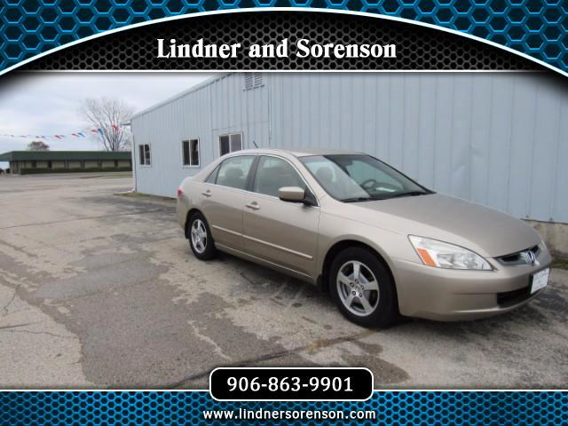 2005 Honda Accord Hybrid V6 5-Speed AT