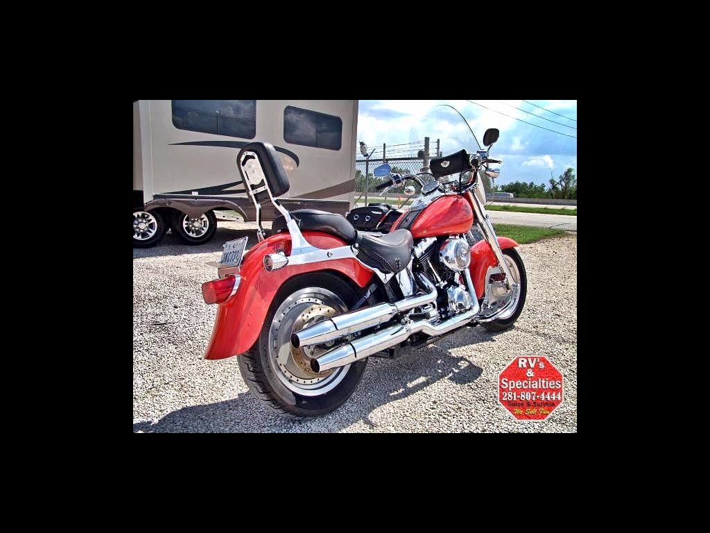 2003 Harley-Davidson Fat Boy FLSTFI 100TH Anniversary Edition Motorcycle