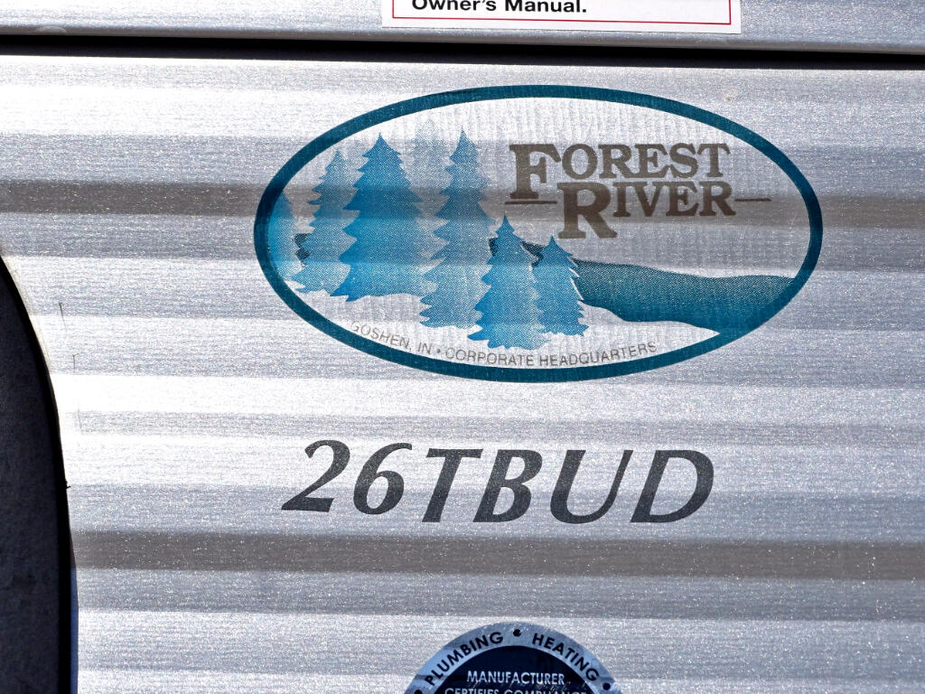 2016 Forest River Salem 26TBUD