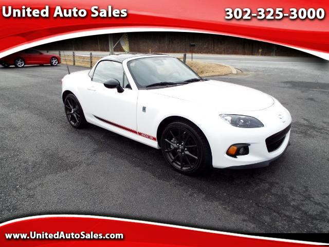 2014 Mazda MX-5 Miata Club Power Hard Top MT
