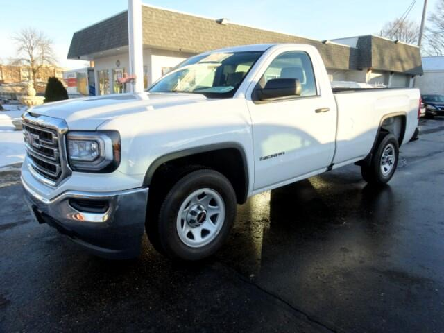 2016 GMC Sierra 1500 Reg. Cab 8-ft. Bed 2WD