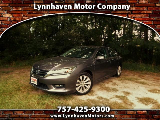 2014 Honda Accord Sunroof, Side & Rear Cameras, One Owner, 31k Miles