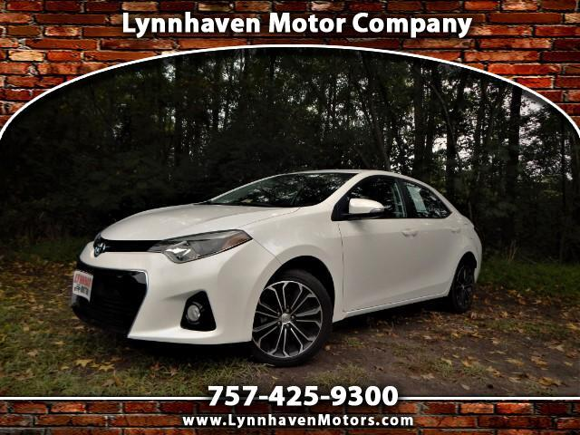 2015 Toyota Corolla S Premium, Sunroof, Camera, Only 20k Miles!