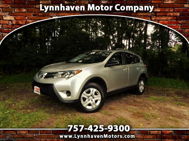 2014 Toyota RAV4 LE w/ Rear Camera, Bluetooth, 24k Miles, 1 Owner